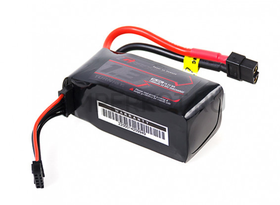 Аккумулятор TURNIGY GRAPHENE 1300MAH 4S 65C LIPO PACK W/XT60 (REMOVABLE BALANCE PLUG), фото 3