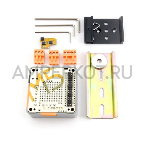 Модуль расширения для M5Stack (PLC Proto Industrial Board Module RS485/ACS712), фото 1