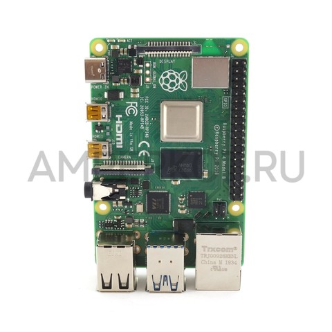 Мини-компьютер Raspberry Pi 4 Model B (8Gb), фото 6