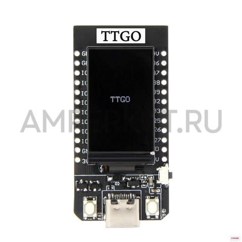 TTGO T-Display ESP32 WiFi с 1.14' экраном, фото 2