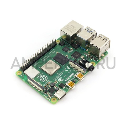 Мини-компьютер Raspberry Pi 4 Model B (8Gb), фото 2