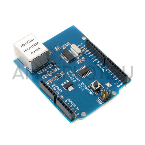 Ethernet Shield V1.1 для Arduino, фото 1