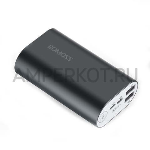 Power Bank ROMOSS ACE (A10-40) (10000mAh), Deep Space Gray, фото 1