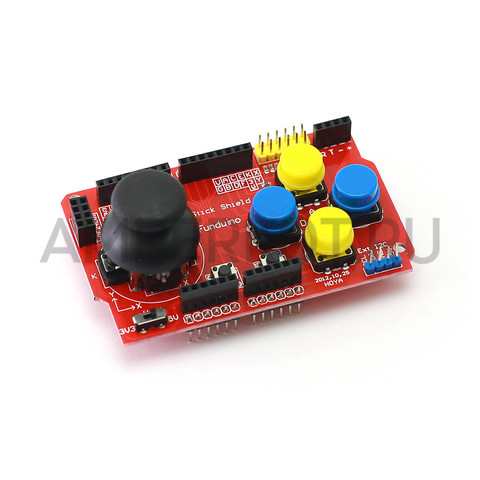 Funduino JoyStick Shield, шилд джойстика для Arduino, фото 1