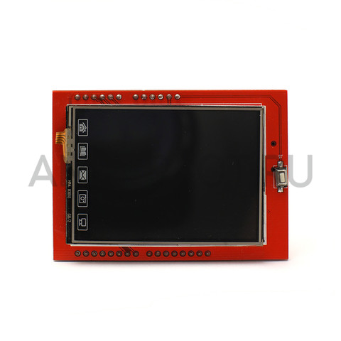 "TFT Display Shield 2.4"" (шилд дисплея с тачскрином) для Arduino, фото 1"