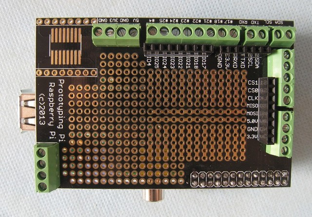 Raspberry Pi Prototyping Board (Pi Plate), фото 4
