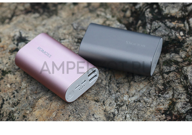 Power Bank ROMOSS ACE (A10-40) (10000mAh), Rose Gold, фото 6