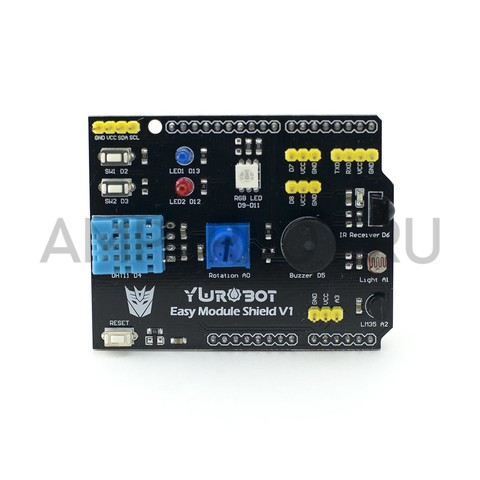 YWRobot Easy module Multi-shield V1 для Arduino UNO, фото 2