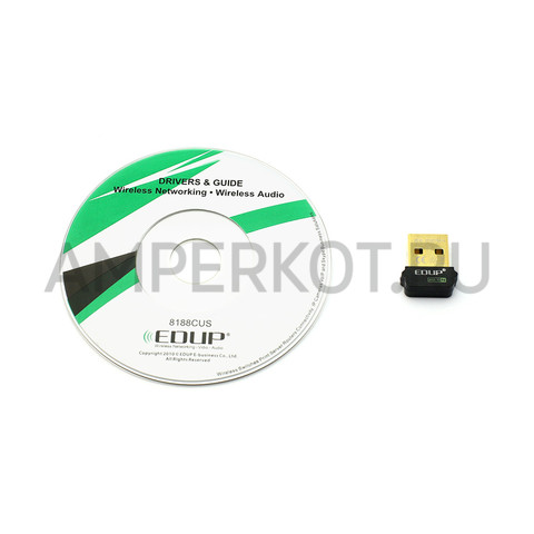 Модуль WiFi EDUP EP-N8508GS 150 Mbps Wireless Wifi Mini 802.11 n/g/b (USB), фото 4
