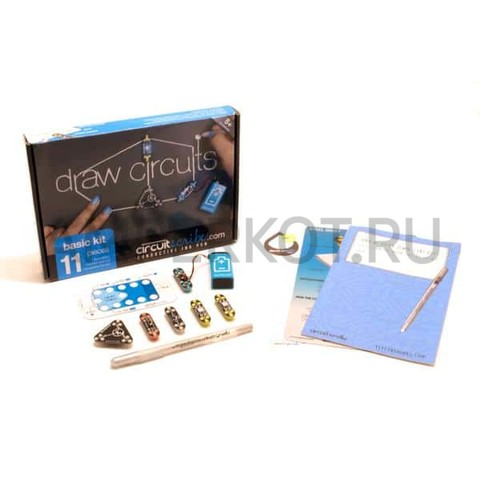 Circuit Scribe Basic Kit с книгой, фото 1