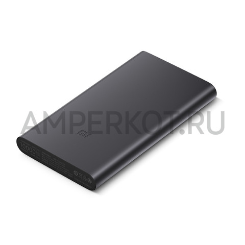 PowerBank Xiaomi 10000MAh, черный, фото 2