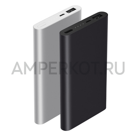 PowerBank Xiaomi 10000MAh, черный, фото 4